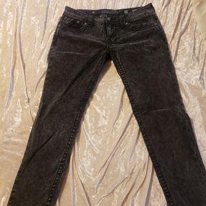 Miss Me skinny velvet jeans